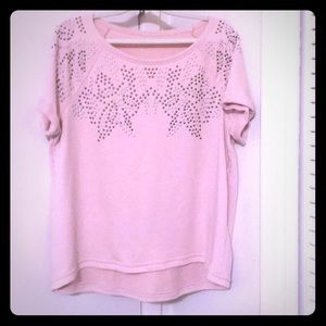 Blush pink Pullover top